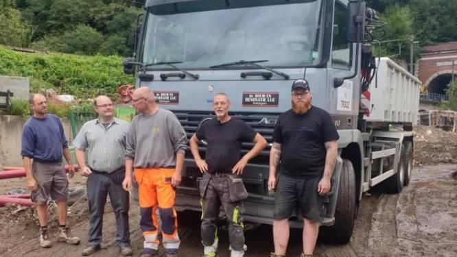 Maldegem gaat opruimwerken na overstromingen in Trooz ondersteunen