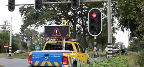 Opnieuw een botsing tussen twee auto's op kruising N350/N347 bij Rijssen