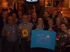 Team St. Jans en de kinderen wint Gemert Weet 2017