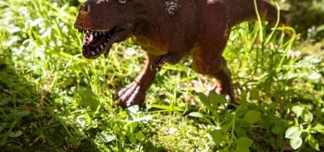 'Kijk eens schat, verrassing!' Brit leukt tuin op met aanstormende tyrannosaurus