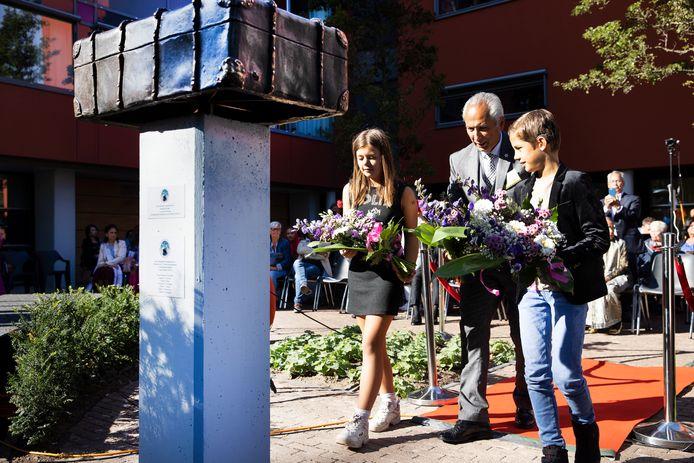 EINDHOVEN - De onthulling van het Indisch Moluks herdenkingsmonument in Eindhoven
