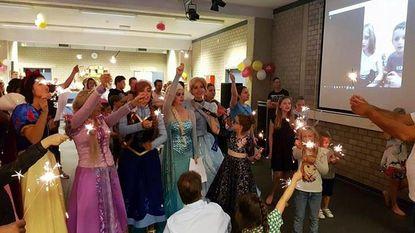 Adea ziet Disney-prinsessen dansen op benefiet