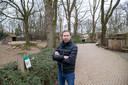 Robin de Lange, directeur van Ouwehands Dierenpark in Rhenen, op archiefbeeld.