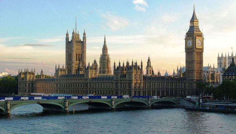 Westminster Palace, de zetel van het Britse Parlement. Beeld rv