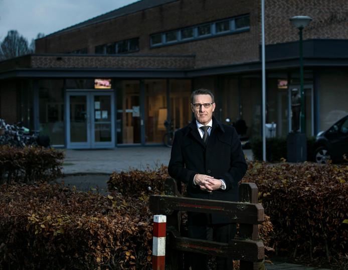 Burgemeester Frank van der Meijden in Mariahout.
