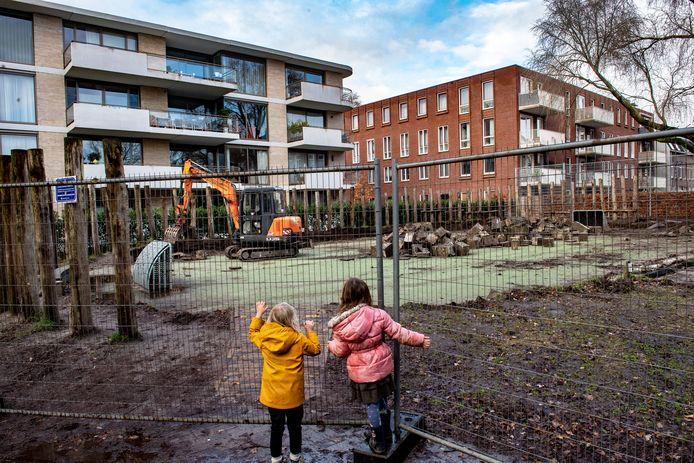 De ontmanteling van het pannaveldje van De Buut eind 2019.