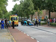 Motorrijder gewond in Zwolle
