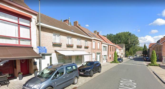 De Reningelststraat in Kemmel.