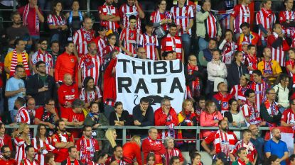 Atlético-fans viseren 'rat Courtois'