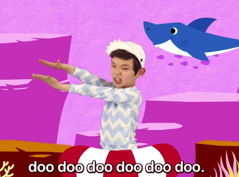 Internethit 'Baby Shark': met een babyhaai valt niet te lachen, of juist wel. Beeld rv