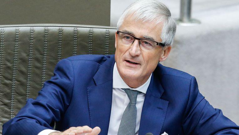 Vlaams minister-president Geert Bourgeois (N-VA). Beeld BELGA