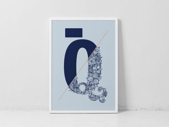 The Print Collection:  de print van Geertrui Storms.