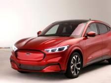 Teleurstelling voor leaserijders: elektrische Ford Mustang Mach-E komt pas volgend jaar naar Nederland