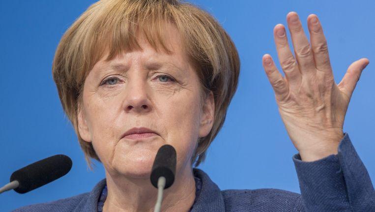 Angela Merkel Beeld epa
