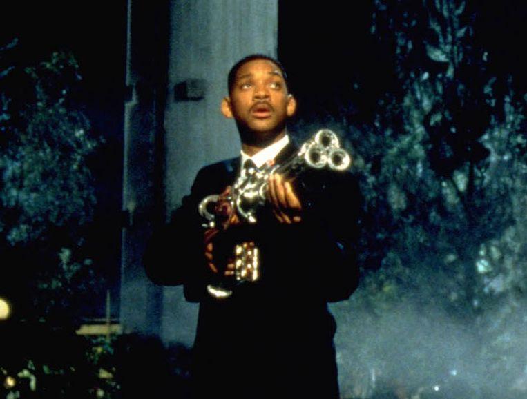Will Smith in Men in Black (Barry Sonnenfeld, 1997). Beeld