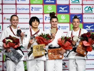 """Mina Libeer na brons in Grand Slam van Parijs: """"Eerste medaille bij de elite én op niveau van de World Tour"""""""