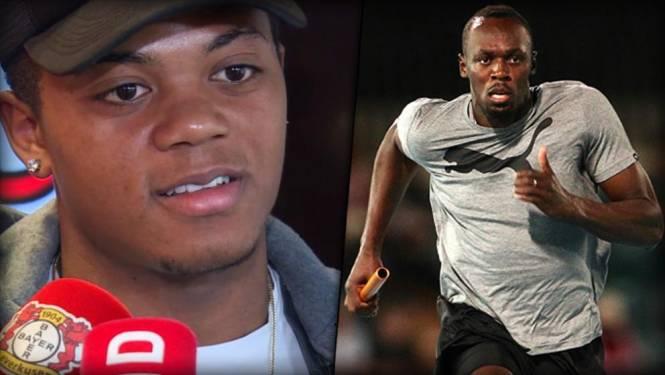 Bailey doet stevige belofte: Jamaicaan wil niemand minder dan Usain Bolt naar Leverkusen halen