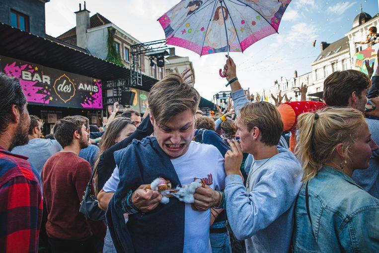 opkuis van de Vlasmarkt, Gentse feesten