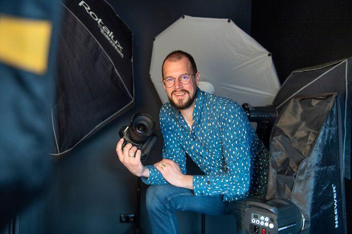 Gerbert Voortman heeft van zijn hobby zijn beroep gemaakt en hij heeft nu een goed draaiend fotobedrijf.