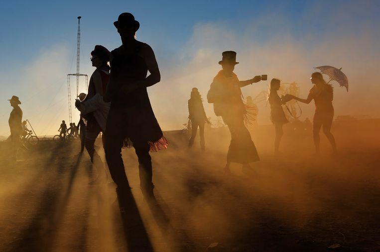 Burning Man 2013. Beeld EPA