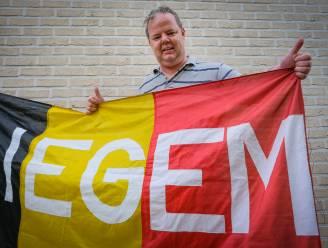 "Van 1992 tot 2018 geen enkel groot tornooi gemist, maar corona houdt Danny (49) en zijn bekende vlaggen thuis van EK: ""Onzekerheid is te groot"""