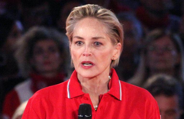 Sharon Stone. Beeld Reporters / Kikapress