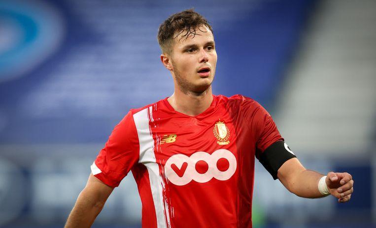 Zinho Vanheusden (Standard). Beeld BELGA