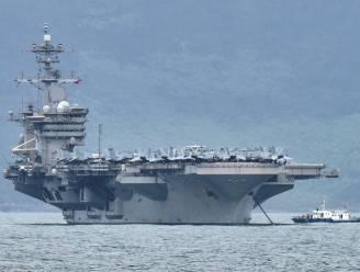 Spanning tussen China en VS door Amerikaans vliegdekschip in Zuid-Chinese Zee