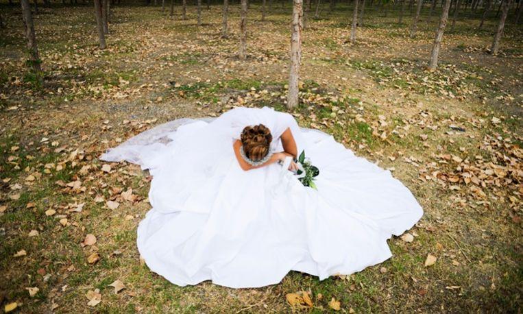 In de uitverkoop: trouwjurken die nooit zijn gedragen