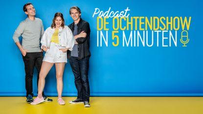 Ochtendtrio van Qmusic gestart met eigen podcast