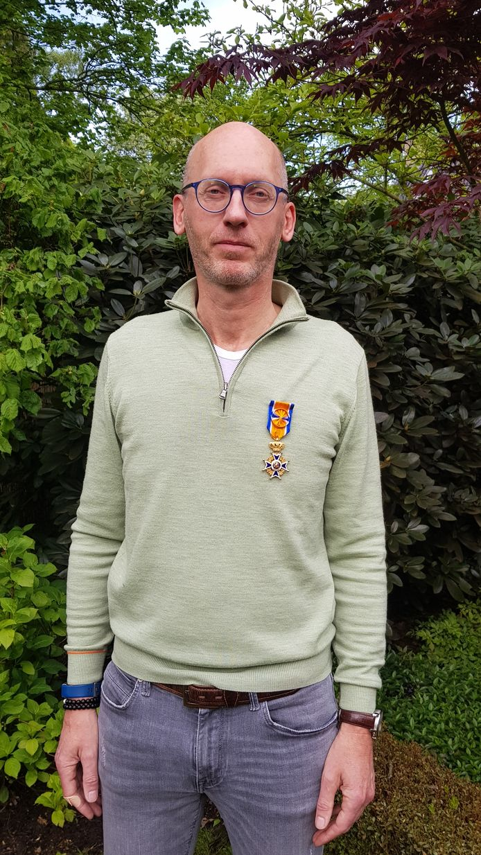 Rob Fijneman uit Maarheeze is benoemd tot Officier in de Orde van Oranje-Nassau.