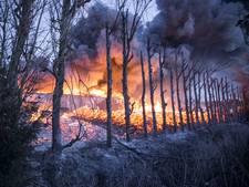 Alleen woning eigenaar ontsnapt aan brand Kapelle