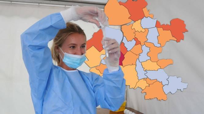 KAART | Coronacijfers Nunspeet blijven zorgelijk, slechts één gemeente besmettingsvrij