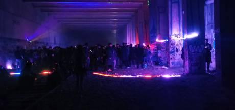 La police ne parvient pas à mettre fin à une rave party en Bretagne