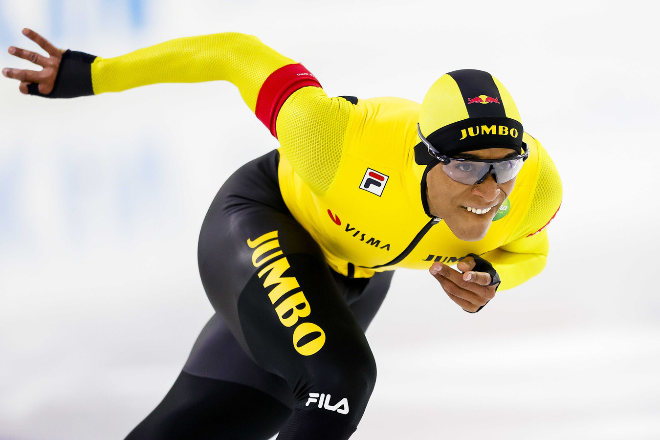 Dai Dai N'tab:  Eerst het WK 500 meter. 'Daar heb ik het hele jaar voor gewerkt. Ik hoop wel dat nog ijs ligt als we uit de bubbel komen.'