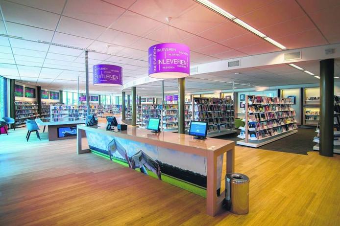 De bibliotheek in Wijchen.