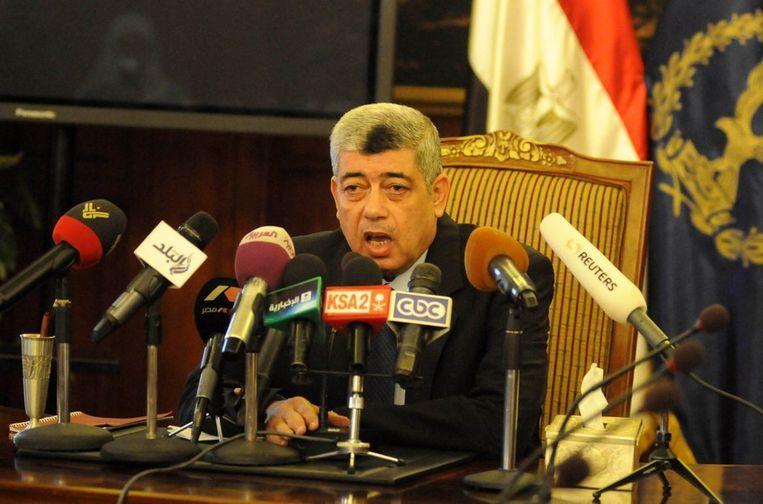 Minister van Binnenlandse Zaken Mohamed Ibrahim bleef ongedeerd. Beeld PHOTO_NEWS