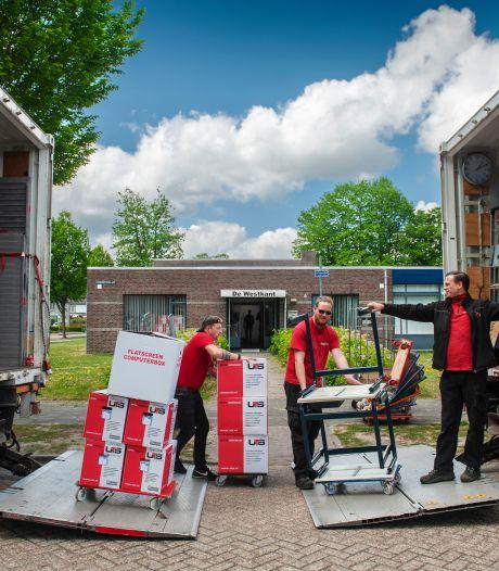 Schoolspullen verhuizen van KlimOp naar Westkant in Kaatsheuvel