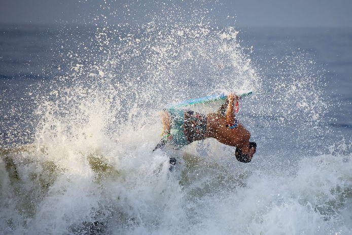 Voorlopig is het nog een paradijs voor surfers.