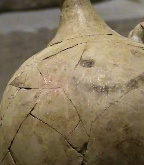 """Des archéologues ont peut-être découvert le tout premier """"smiley"""" de l'histoire"""
