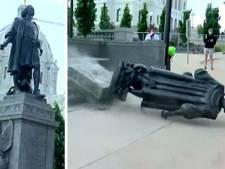 Des statues de Christophe Colomb dégradées aux États-Unis