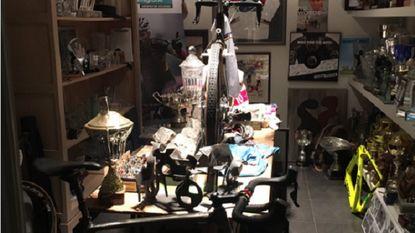 De trofeeënkamer van Sven Nys krijgt stilaan vorm (en of die indrukwekkend is)