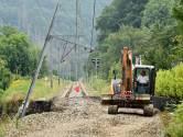 La circulation des trains sera rétablie sur l'ensemble du réseau le 4 octobre