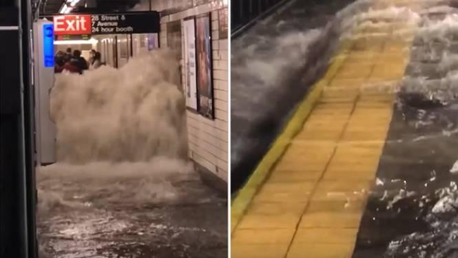 Ida maakt zeker 13 doden in New York: straten veranderen in kolkende rivieren, metro's vast tussen stations