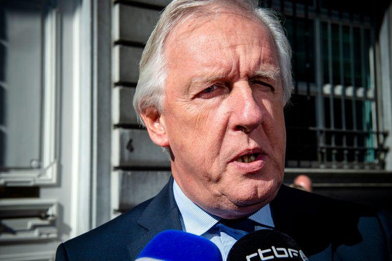 Pensioenminister Daniel Bacquelaine. Zijn wetsontwerp krijgt een negatief advies. Beeld Photo News