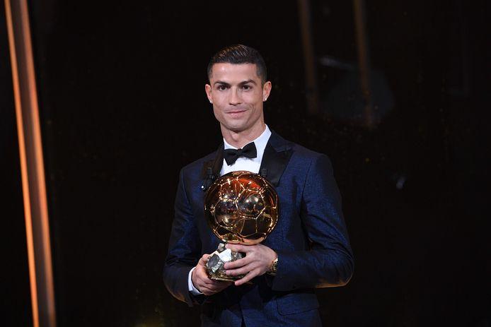 Cristiano Ronaldo won de prijs (net als Lionel Messi) als vijf keer.