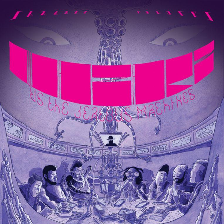 'Quazars vs The Jealous Machines' van Shabazz Palaces. Beeld Sub Pop