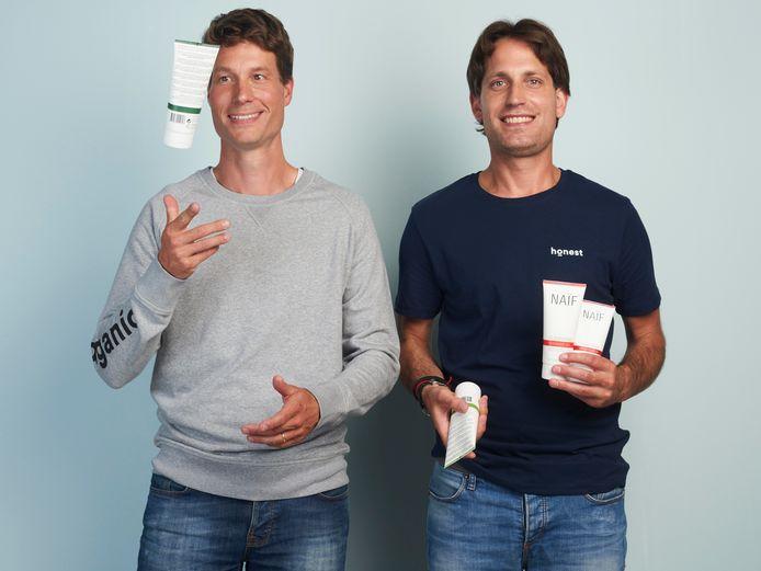 Sjoerd Trompetter (links) van het Haagse bedrijf Naïf heeft veel gehad aan het individuele traject van de gemeente Den Haag bij de uitbreiding van het bedrijf naar Duitsland.