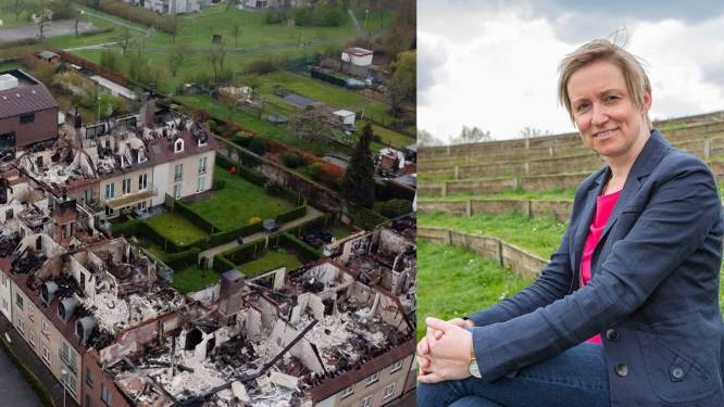"""Burgemeester Inez De Coninck (43) na inferno in Opwijk: """"'Kan dit nog eens gebeuren?', van die vraag blijf ik wakker liggen"""""""