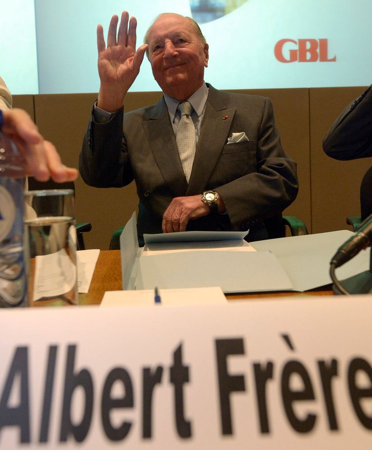 Afscheid van Albert Frère Beeld Photo News